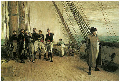 William Quiller Orcharrdson - On Board HMS Bellerophon
