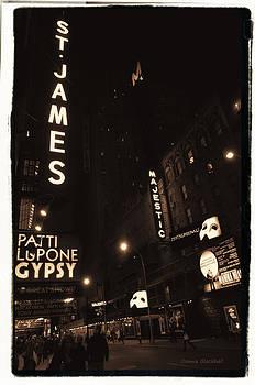 Donna Blackhall - On Broadway