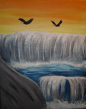 On Eagles Wings by Angie Butler
