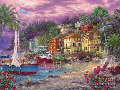 On Golden Shores by Chuck Pinson