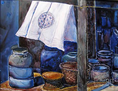 On Line Canvas by Louise Peardon