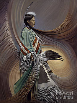 On Sacred Ground Series I by Ricardo Chavez-Mendez