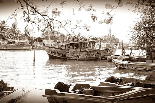 On Silent Waters by Ajithaa Edirimane