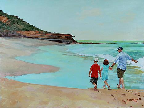 On the Beach II by Debbie Beukema