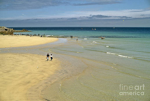 On the Beach St Ives by David Davies
