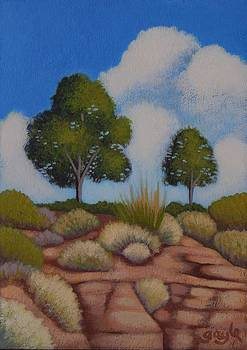 On the Bluff by Gayle Faucette Wisbon