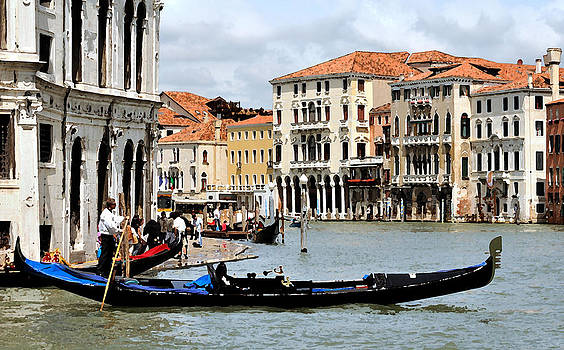 Mick Burkey - On the Grand Canal