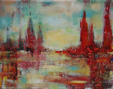 On The Lake by Mirjana Gotovac