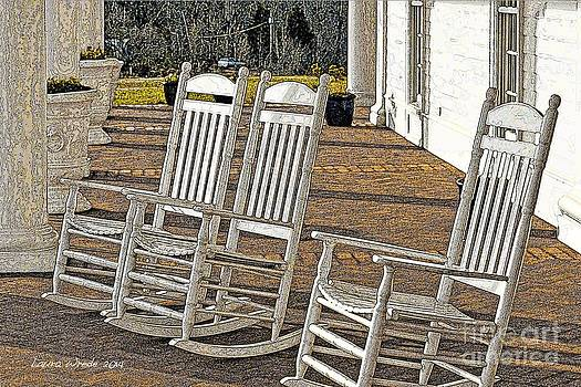 Artist and Photographer Laura Wrede - On the Porch With Old Friends