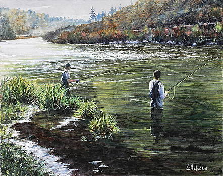 On the Riffle by Bill Hudson