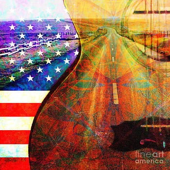 On The Road Again 20140716 Square by Wingsdomain Art and Photography
