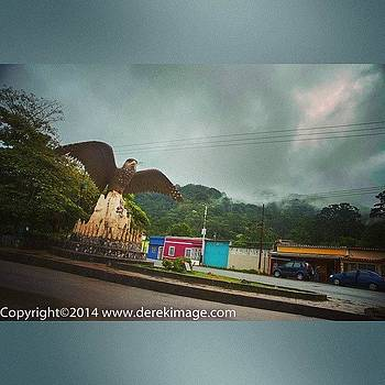 On The Road In Venezuela Near Caripe by Derek Kouyoumjian