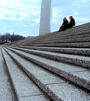 On the Steps of the Arch by Mick ODay