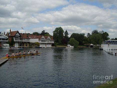 On the Thames Henley by Beatrice Cloake