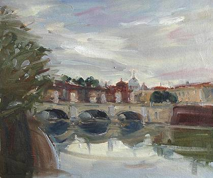 On the Tiber by Owen Hunt