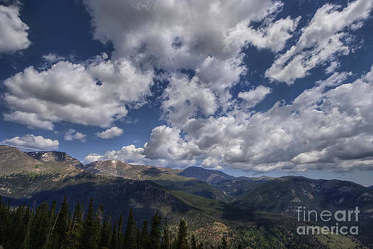 On Top Of The Rockies by Scott Wood