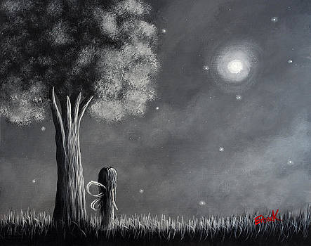 Once Upon A Dreamy Night Original Fairy Art by Shawna Erback