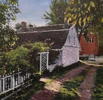 Onderdonk House  Garden by Victor SOTO