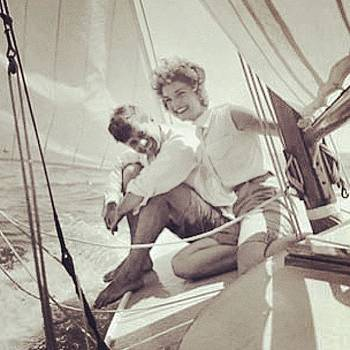 One More. #tbt Just The Prez Sailing by Trey Jackson