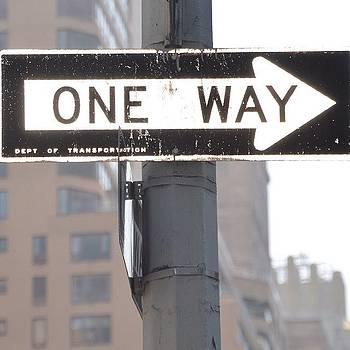 Eve Tamminen - One Way.  #iloveny #newyork  #ny
