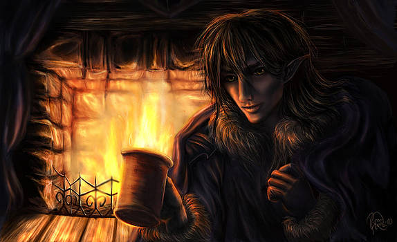 One Winter Evening by Katerina Romanova
