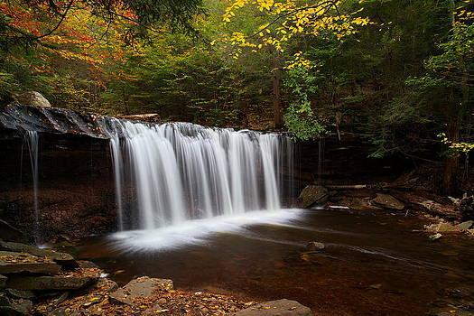 Oneida Falls in Autumn by Tim Devine