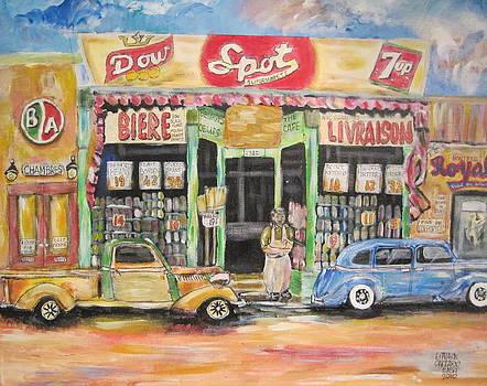 Ontario Street East 1938 by Michael Litvack