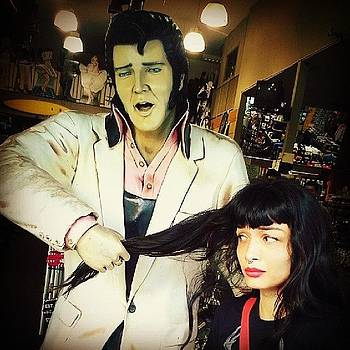 Oooh-lala #elvis, I Mean Oww. Haha. I by Melissa Eve