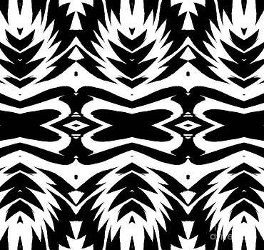 Drinka Mercep - Pattern Black White No.232.