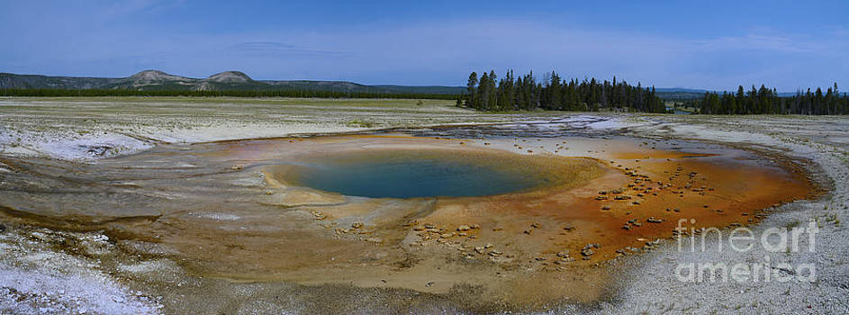 Tim Mulina - Opal Pool Panorama Yellowstone