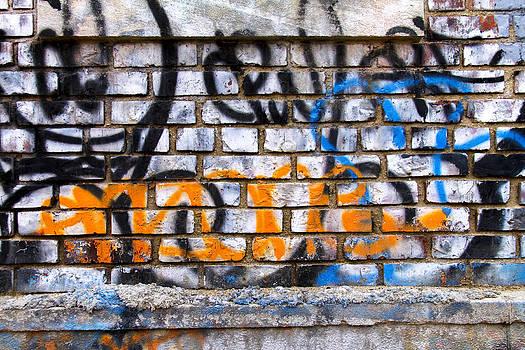 Opaque graffiti  by Cameron McManus