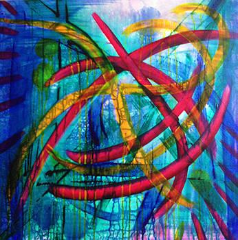 Open Magenta by Brenda Nachreiner