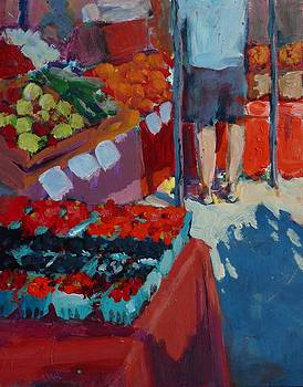 Open Market by Margaret  Plumb