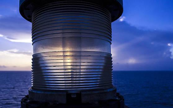 Open Sea Light House by Darren  Names