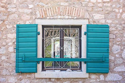 Open window shutters by Borislav Marinic