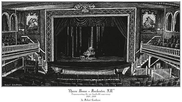Opera House - Rochester NH by Robert Goudreau