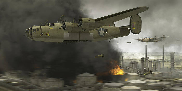 Operation Tidal Wave side view by Robert Perry