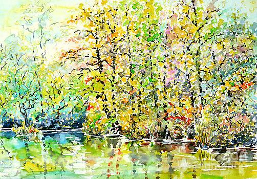 Opposite Riverside by Alfred Motzer