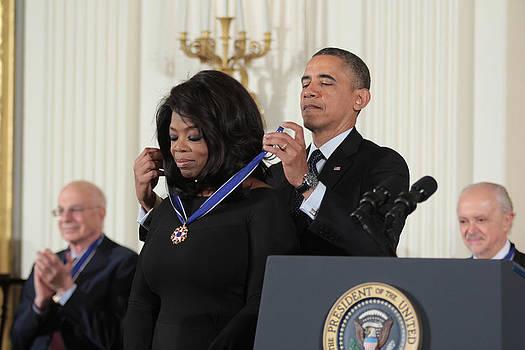 Oprah Winfrey Medal of Freedom by Douglas Adams
