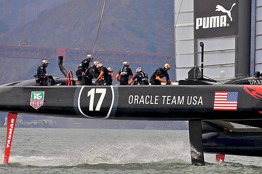 Steven Lapkin - Oracle Team USA