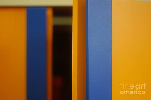 Orange - a closet by Giuseppe Ridino