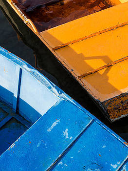 Orange and Blue by Davorin Mance