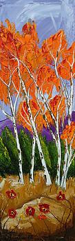 Orange Autumn 1 by Portland Art Creations