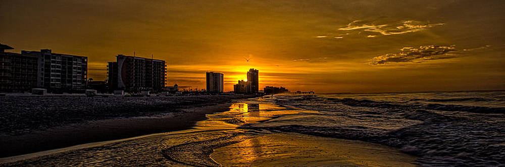 Orange Beach AL Sunrise by Patrick Collins