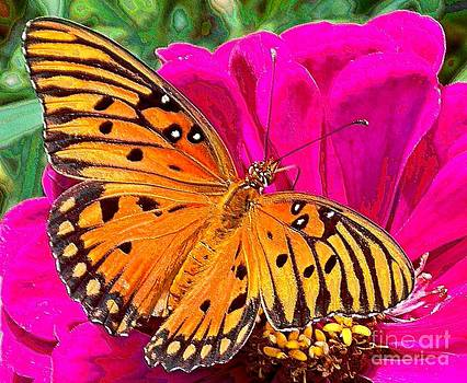 Orange Beauty by Annette Allman