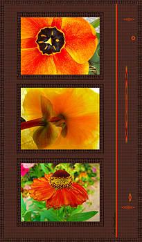 Kae Cheatham - Orange Bloom Motif