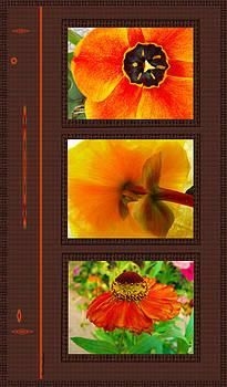 Kae Cheatham - Orange Bloom Motif R
