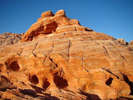 Qing Yang - Orange Colored Rock