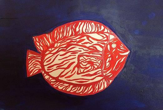 Orange Fish by Phyllis Hollenbeck