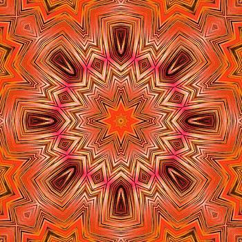 Marcela Bennett - Orange Flower 45
